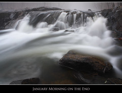 January Morning on the Eno photo by Nate Montgomery