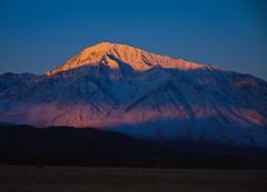 Sunrise at Mount Tom, Sierra Nevada, California, USA photo by Xindaan