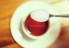 #DAY 20. Sugar + Tea photo by farhaddaud
