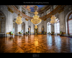 The Marble Hall - Ludwigsburg, Germany (HDR) photo by farbspiel