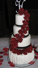 My Second Wedding Cake photo by Creative Cakes by Ashley