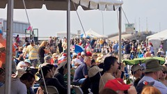Crowd view of NASA causeway