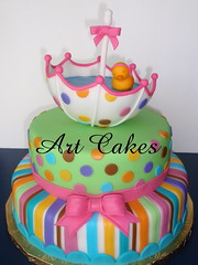 Baby Shower Cake photo by Art Cakes