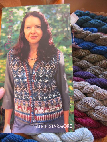 A weft yarn: My next knitting project - Alice Starmore fair isle