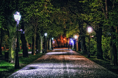 Shot in the night, Rzeszów Poland April 2014 photo by Smo_Q - alone