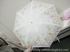 晴雨兼用折りたたみ雨傘(mini labo)の写真7