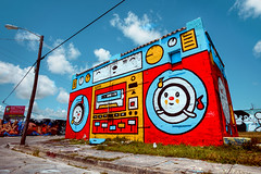 I think I had one just like this when I was a kid... (Wynwood District, Miami) photo by ohhector