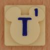 Disney Scrabble Letter T