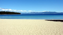 Bliss Beach on West (CA) Shore of Lake Tahoe 8-2010 photo by inkknife_2000 (3 million + views)