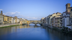 Ponte Vecchio over the Arno, Florence (Explored, thank you! #6) photo by CarolynEaton