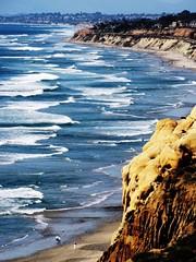Wind and Sea, Torrey Pines Park, California photo by moonjazz