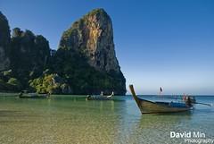 Railay Beach, Thailand - Tropical Paradise photo by GlobeTrotter 2000
