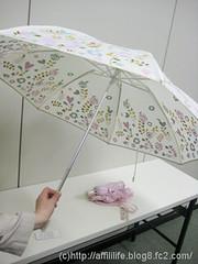 晴雨兼用折りたたみ雨傘(mini labo)の写真9