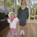 Easter Bonnet girls<br/>07 Apr 2011