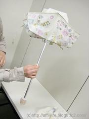 晴雨兼用折りたたみ雨傘(mini labo)の写真4