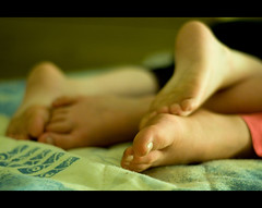 The grubby feet of the young photo by Dusty V