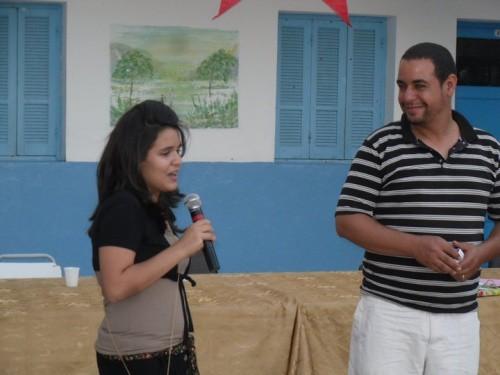 Zeineb et Mr.Najaar