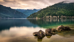 Lake Crescent Zen photo by Dan Mihai