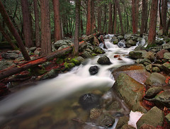 Bridalveil Creek Long Exposure photo by Dave Toussaint (www.photographersnature.com)