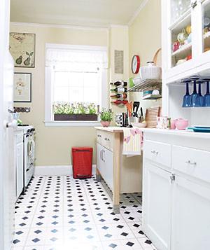 Como decorar una cocina estrecha for Cocinas angostas