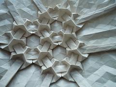 Tessella pridie Nonas Decembres photo by Andrea Russo Paper Art