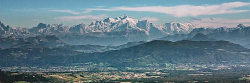 Mont Blanc vu de la barillette