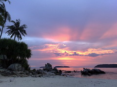 Sunset, Bon Island, Phuket, Thailand photo by Dawn in Phuket, Thailand
