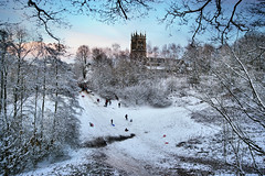 Sledging at St Mary's - Highly Commended - Landscape Photographer of the Year 2012 photo by Chris Beesley