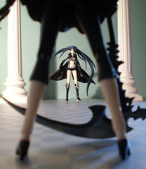 Black Rock Shooter Finds Dead Master photo by Sasha's Lab