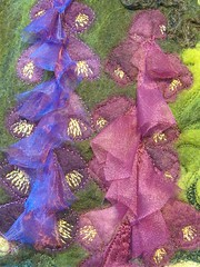Embroidered Hand Felted Picture photo by MarmaladeRose