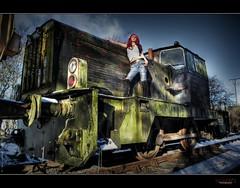 "UE Train Graveyard ""W"" photo by rustysphotography"
