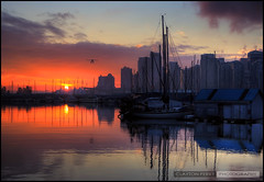 Sunrise Over Vancouver photo by Clayton Perry Photoworks