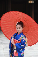Cute little girl  taken at Meiji Shrine (明治神宮), located in Shibuya, Tokyo, Japan photo by Joe Joe 12 (Very Busy)