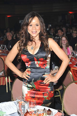 Rosie Perez Being Auctioned-Off at the We Are Family Foundation 8th Annual Celebration Gala - Oct. 26, 2010 in NYC.  (Photo by Shahar Azran/WireImage) photo by We Are Family Foundation