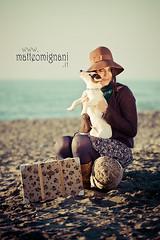 un giorno, una spiaggia, una ragazza, per non parlar del cane photo by teobonjour - www.matteomignani.it