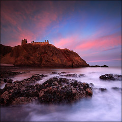 Dunnottar Castle Sunset photo by angus clyne
