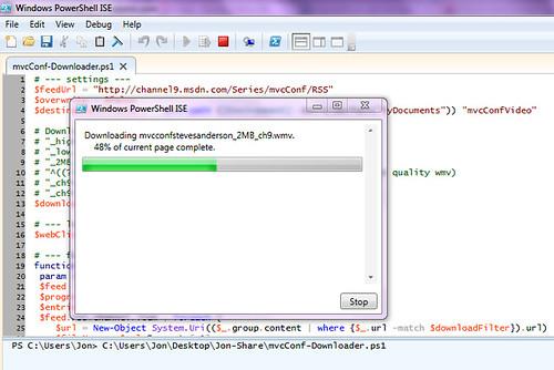 mvcConf Downloader