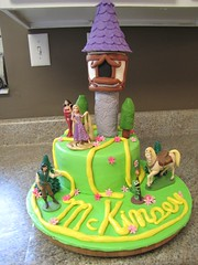 "Disney's ""Tangled"" Themed Cake photo by Creative Cakes by Ashley"