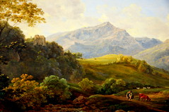 German Landscape painting at Neue Pinakothek Munich Germany photo by mbell1975