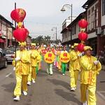 马国法轮功学员新年游行获好评