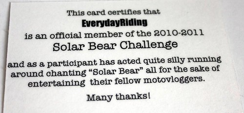 Solar Bear Challenge Wrap-up