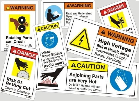 electrical safety signs electrical warnings from denver