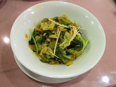 ホウレン草白菜からし菜のタルカリ