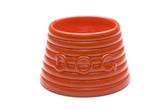 Ringware Dog Bowl photo by bauerpottery