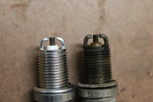2001 BMW R1150GS Spark Plug Replacement