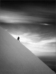 Climb on the edge of heaven photo by Arunte