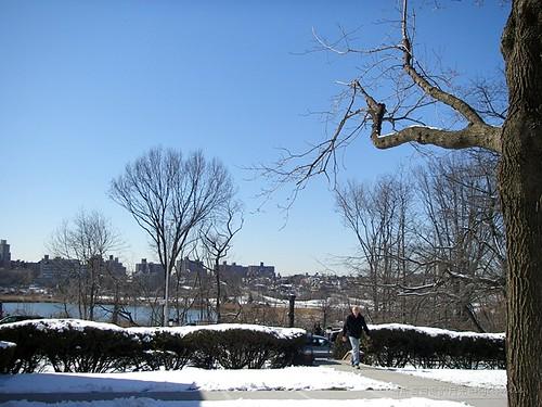 2011.2.22 Blue sky and snow