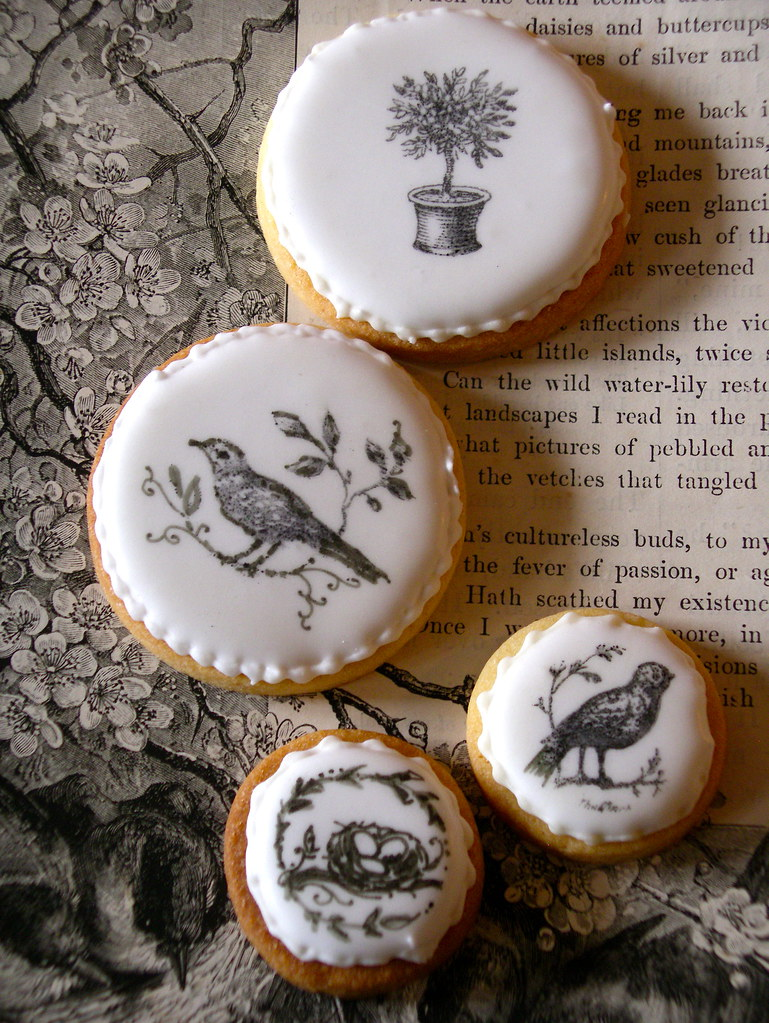 Black & white cookies photo by nice icing