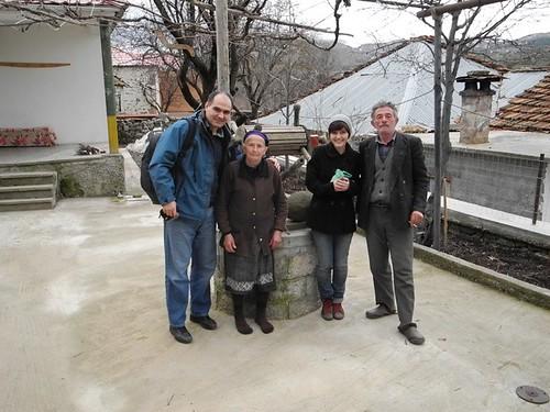 Vasile şi Tika Filat la Tănasă şi Caliope din Borova, Albania
