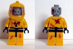Hazmat Zombie photo by ChocoBricks Customs